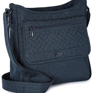 Lug Hopscotch gray cross body bag